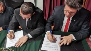 En las instalaciones de la Escuela Nacional de Medicina y Homeopatía del # IPN, el #ICATCDMX y la Asociación Mexicana de Cuidados Gerontológicos A. C., firman convenio para contribuir al Sistemas de Cuidados de la #CDMX.