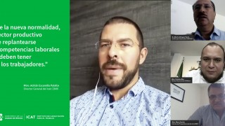 """El Mtro. Adrián Escamilla Palafox, Director General del #ICATCDMX, participó en el conversatorio """"La Trascendencia del Modelo de Competencias en la Nueva Normalidad Económica"""" organizado por  @IceMexico"""