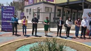 Asiste el Director General del #IcatCDMX en representación de la Titular de #Trabajo CDMX a la inauguración del Makerspace en #SantaCruzMeyehualco, Alcaldía Iztapalapa